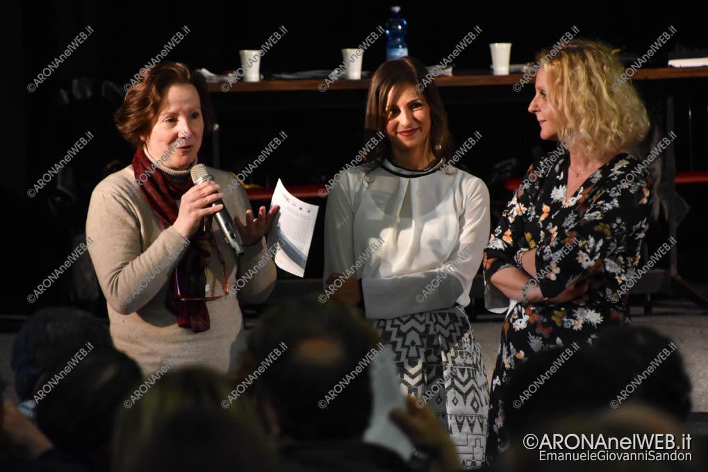 EGS2019_14236 | La dirigente Marina Verzoletto con le professoresse Susanna Tomasina e Gaia Aspesi