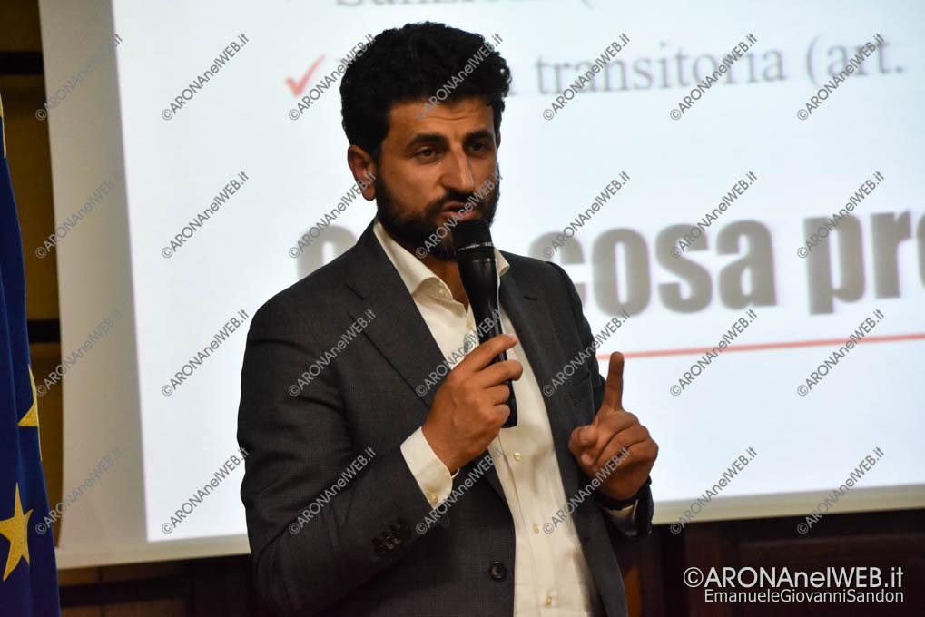 EGS2019_14808 | Domenico Rossi, co-fondatore di Libera Novara e consigliere regionale