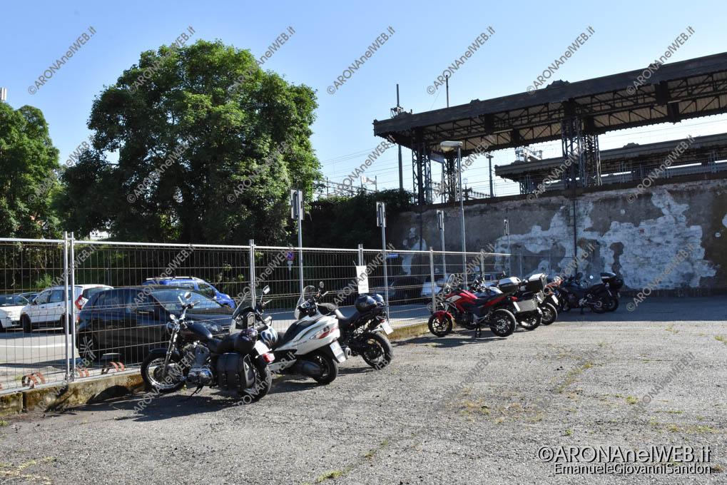 EGS2019_16034 | Il nuovo parcheggio delle moto difronte a Piazzale Aldo Moro