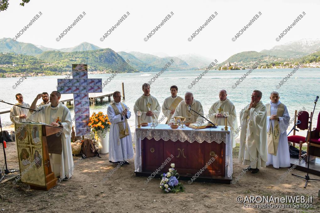 EGS2019_16919 | Route dei Giovani 2019 celebrazione della messa a Lagna fraz. di San Maurizio d'Opaglio