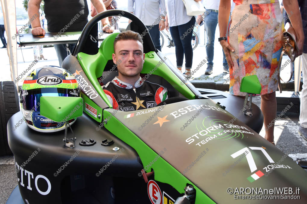 EGS2019_17613 | Andrea Zollino, pilota di Formula X dell'Esercito Italiano