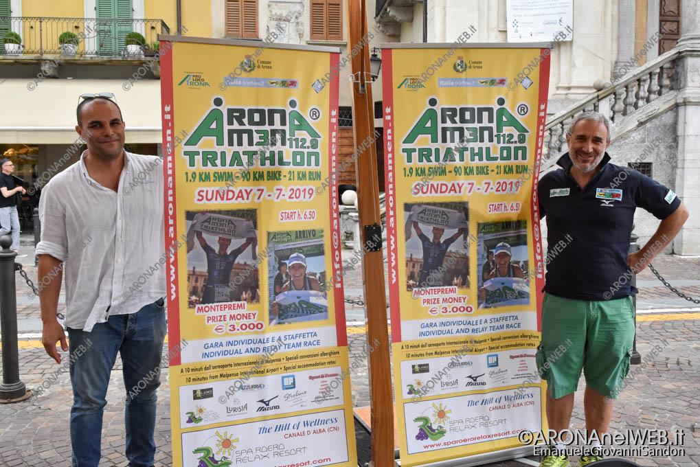 EGS2019_21832 | AronaMen Triathlon 2019, conferenza stampa di presentazione