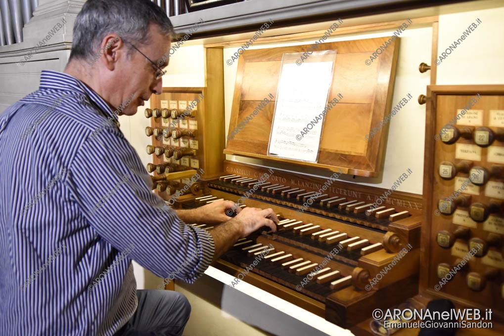 EGS2019_22926 | Miquel Gonzalez all'organo Bardelli-Dell'Orto-Lanzini di Arona