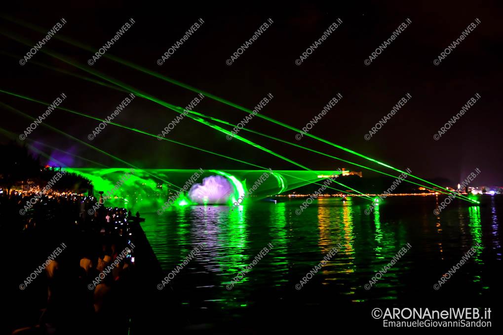 EGS2019_23091 | Laser show dal Castello di Angera