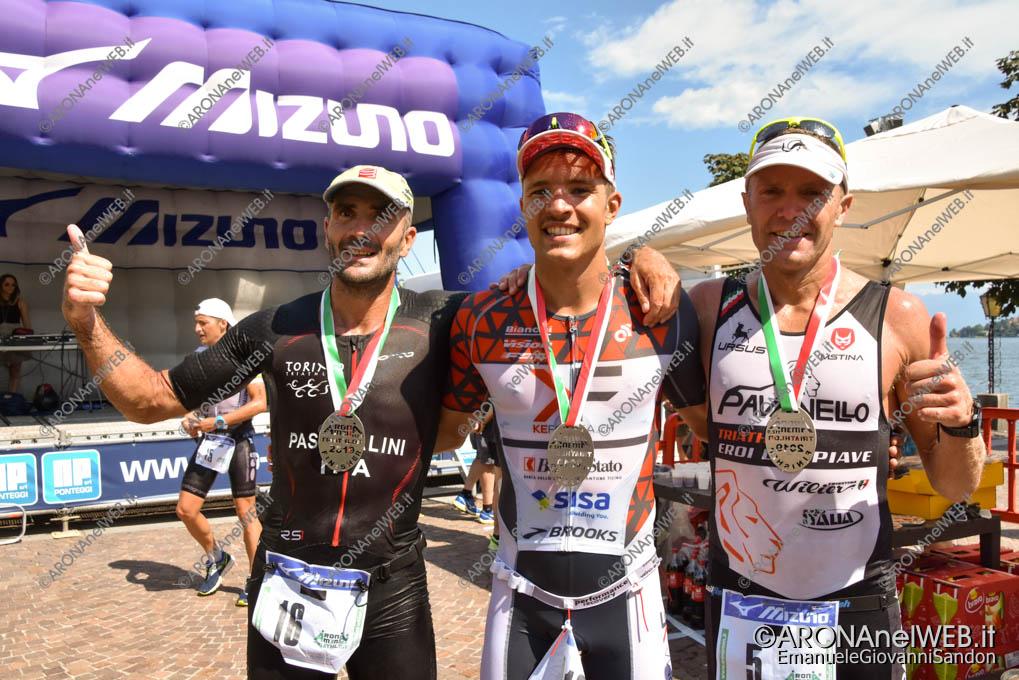 EGS2019_24034 | AronaMen Triathlon 2019, il podio maschile