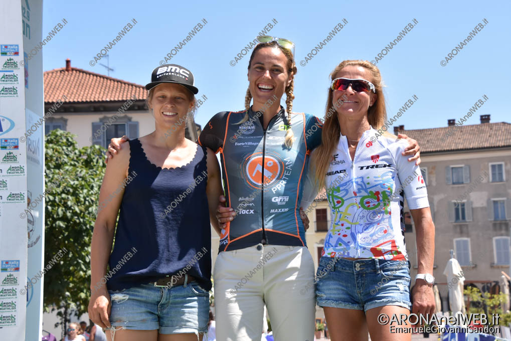 EGS2019_24329 | AronaMen Triathlon 2019, il podio femminile
