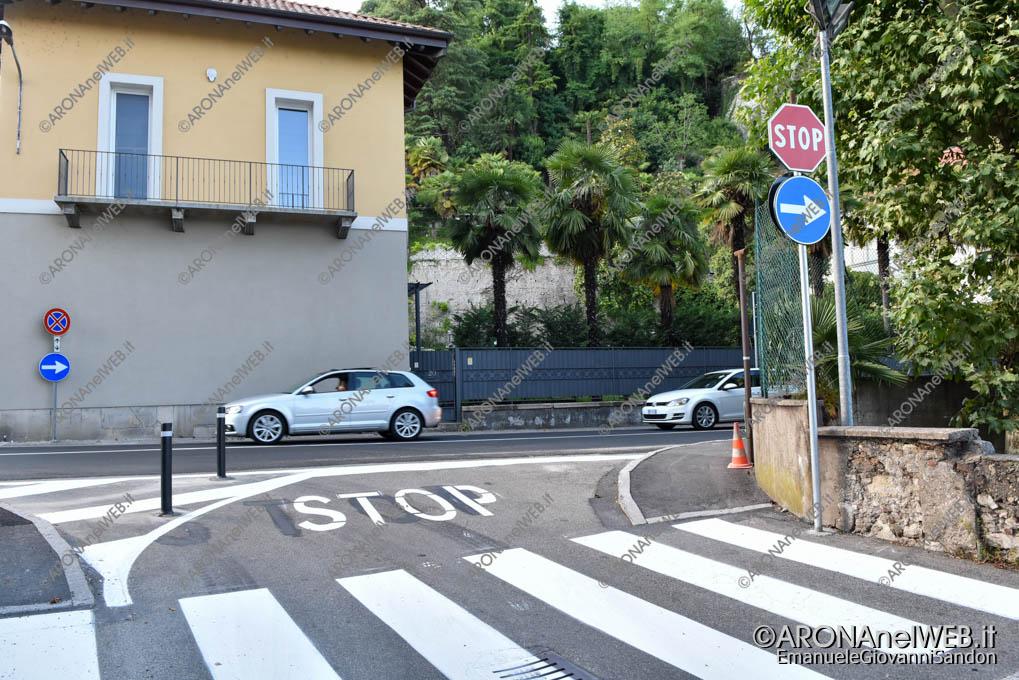 EGS2019_24692 | 08.07.2019 18.00 apertura nuova viabilità, via Gian Giacomo Ponti - obbligo svolta a destra