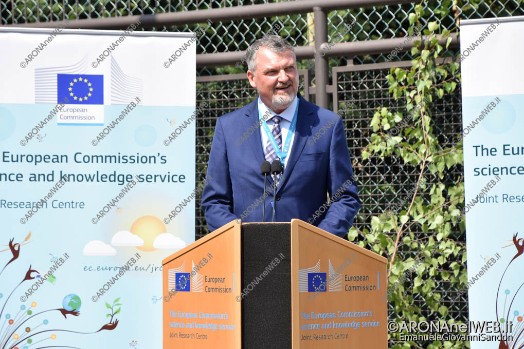 EGS2019_24748 | Dan Claudiu Chirondojan, Presidente del Comitato Organizzativo del Semestre Rumeno - JRC Ispra