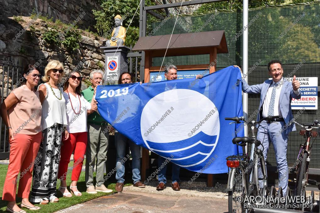 EGS2019_25332 | Bandiera Blu 2019 - Arona, Spiaggia delle Rocchette