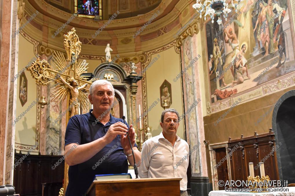 EGS2019_26108 | Il saluto del parroco don Claudio Leonardi