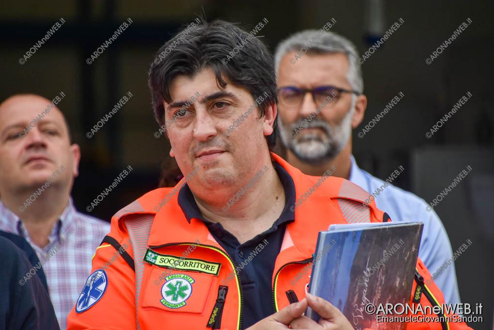 EGS2019_27505 | Daniele Giaime, presidente del Gruppo Volontari Ambulanza del Vergante