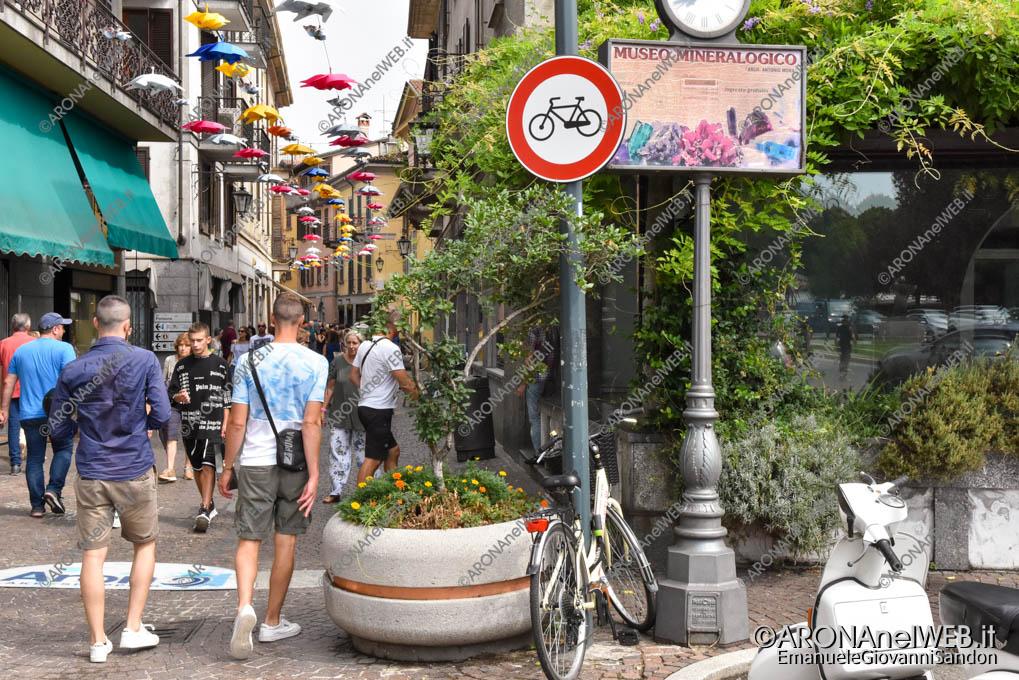 EGS2019_28658 | Divieto biciclette sul Corso Cavour