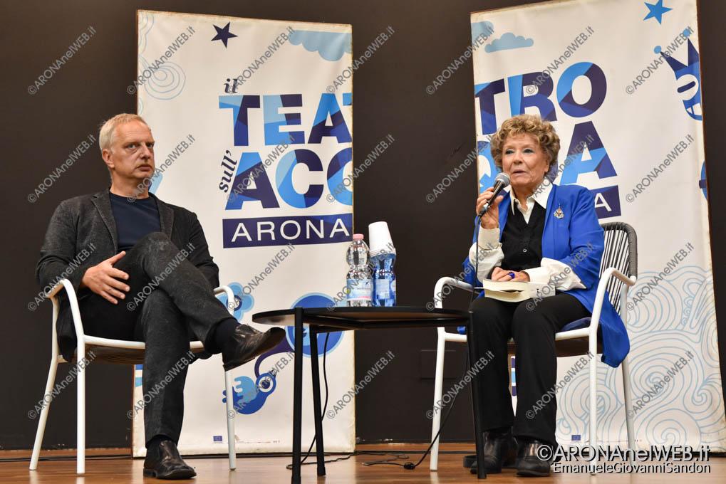 EGS2019_32370   Antonio Scurati dialoga con Dacia Maraini - Teatro sull'Acqua 2019
