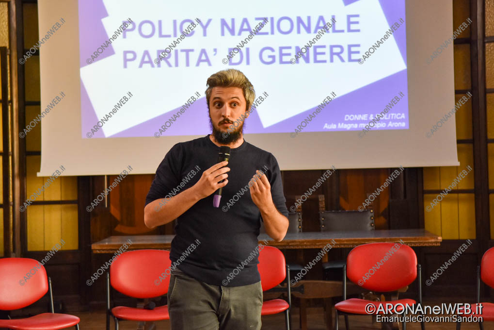 EGS2019_33748 | Fabio Daniele, coordinatore Volt - regione Piemonte