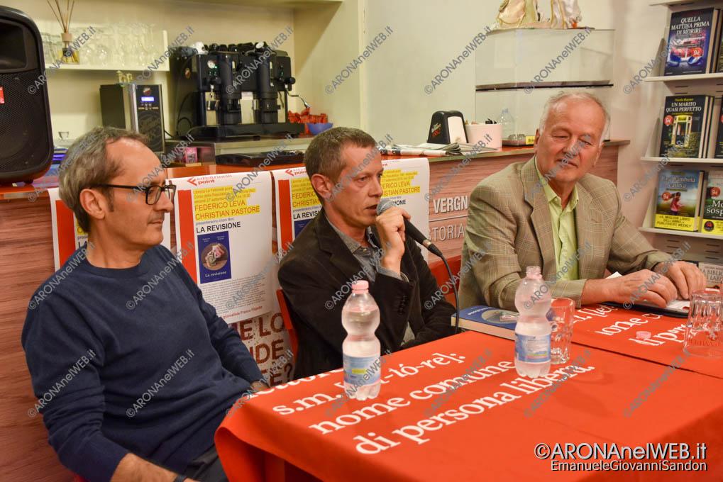 EGS2019_35257 | Federico Leva e Christian Pastore alla Feltrinelli Point di Arona
