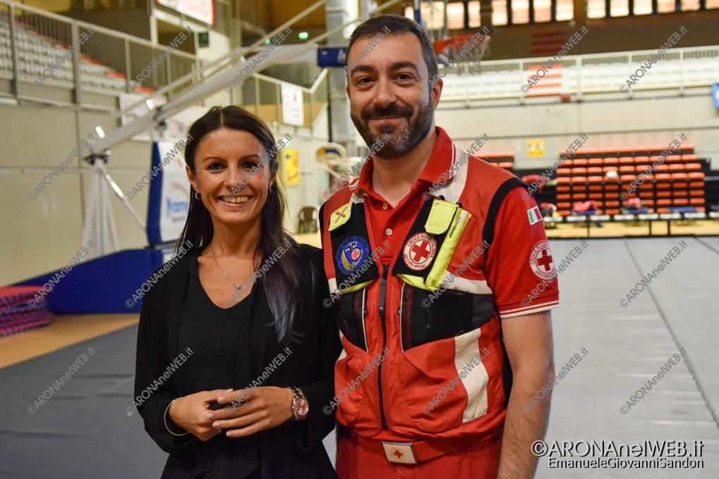 EGS2019_35418 | I dott. Manuela Bovio e Federico Merlo, Crimedim