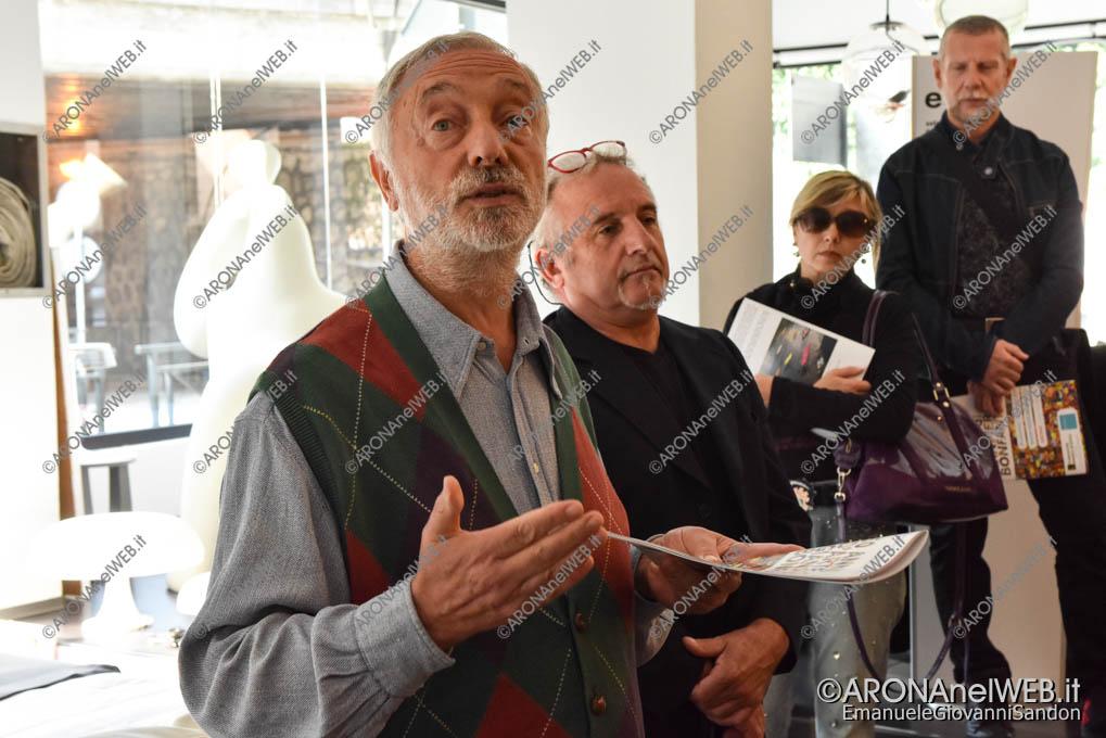 EGS2019_35454 | Liviano Papa presenta l'artista Gianpero Bonfantini