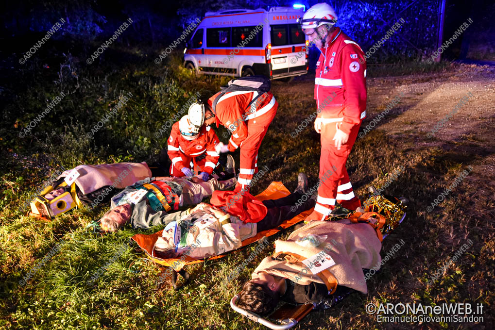 EGS2019_35960 | Esercitazione Croce Rossa a Castelletto Ticino - Maxi Emergenza