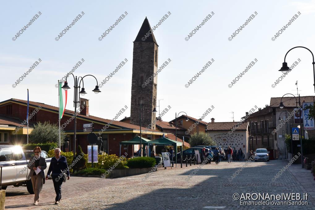 EGS2019_37258 | Giornata FAI d'Autunno 2019 a Massino Visconti - Il campanile della chiesa di San Michele
