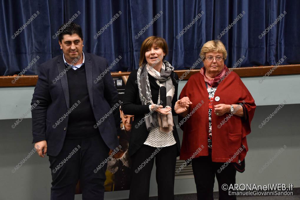 EGS2019_37750 | Silvia Riva con Daniele Giaime e Arabella Fontana