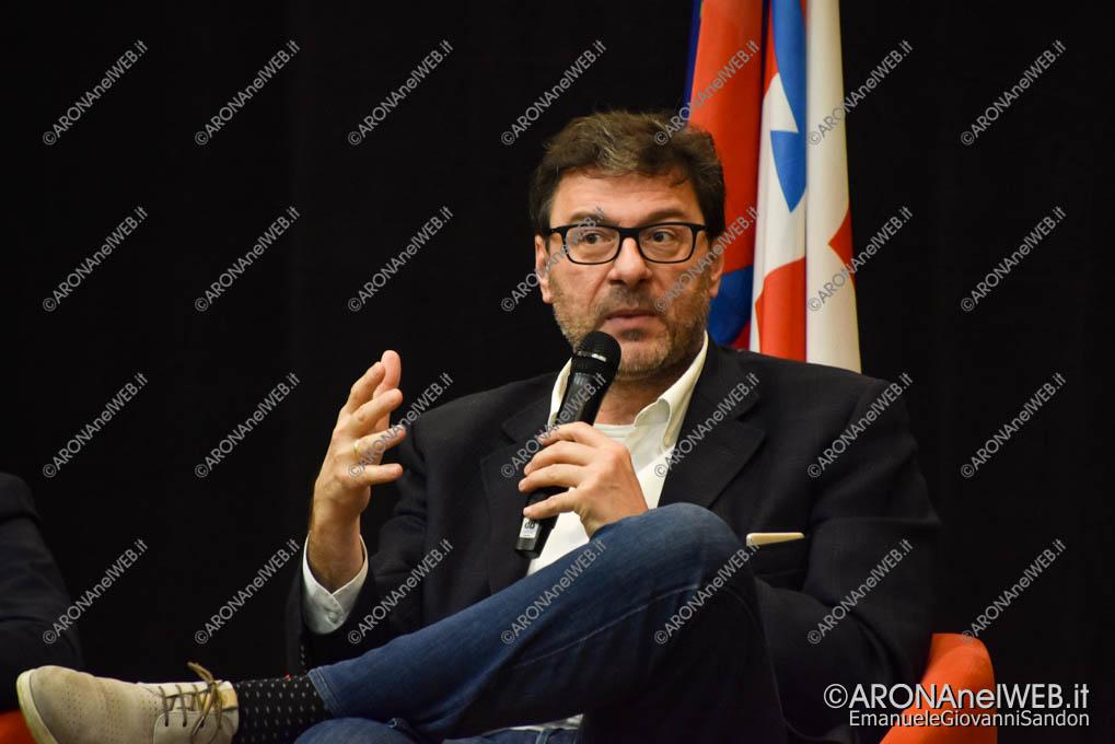 EGS2019_40140 | On. Giancarlo Giorgetti – Sottosegretario alla Presidenza del Consiglio Conte1