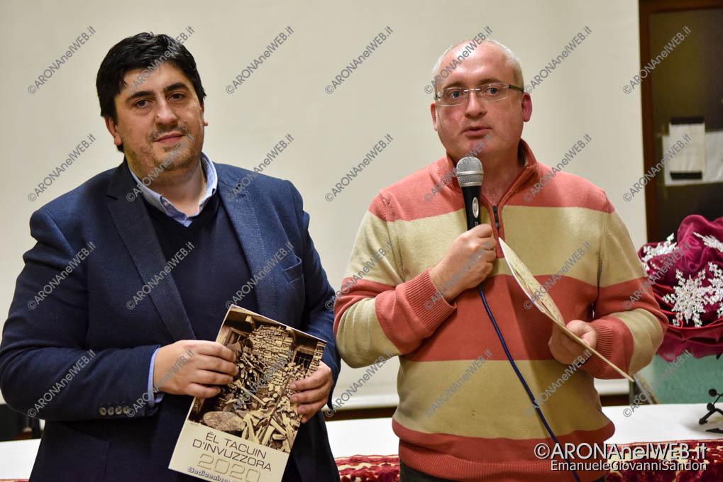EGS2019_40591 | Il sindaco di Invorio Roberto del Conte con l'assessore Daniele Giaime