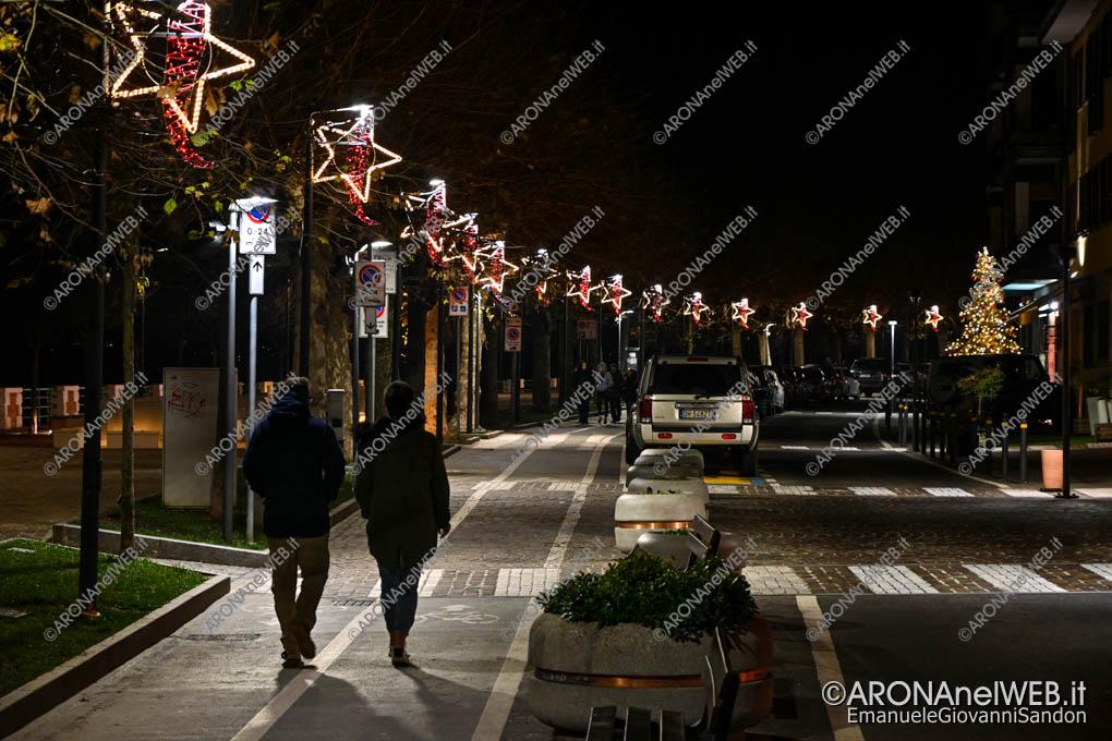 EGS2019_43803 | Luminarie Natale 2019 Lungolago Marconi ad Arona