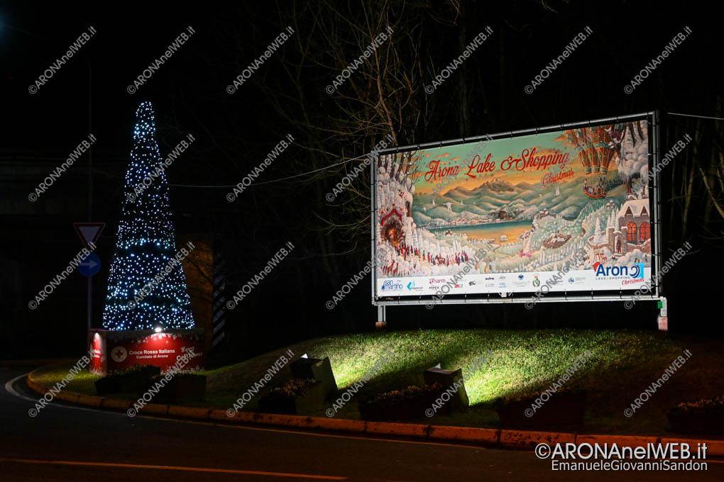 EGS2019_43835 | Luminarie Natale 2019 ingresso ad Arona