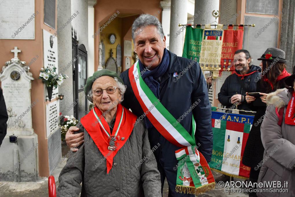 EGS2019_41698 | La partigiana Costanza Arbeja con il vicesindaco Federico Monti