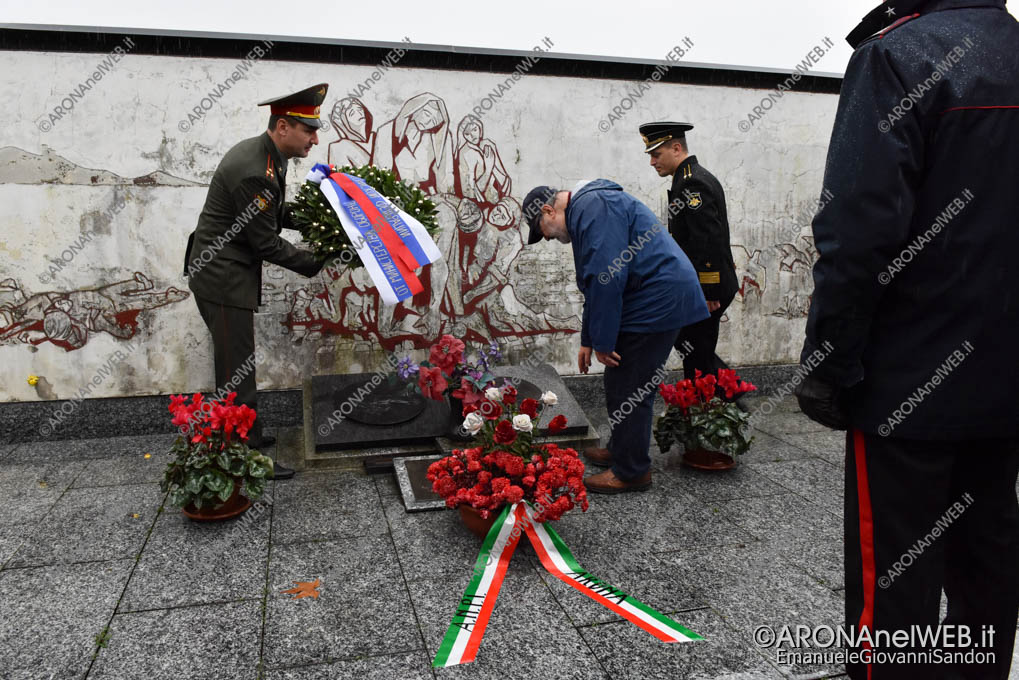 EGS2019_41723 | Ricordo dei partigiani sovietici nella resistenza italiana al sacrario di Arona
