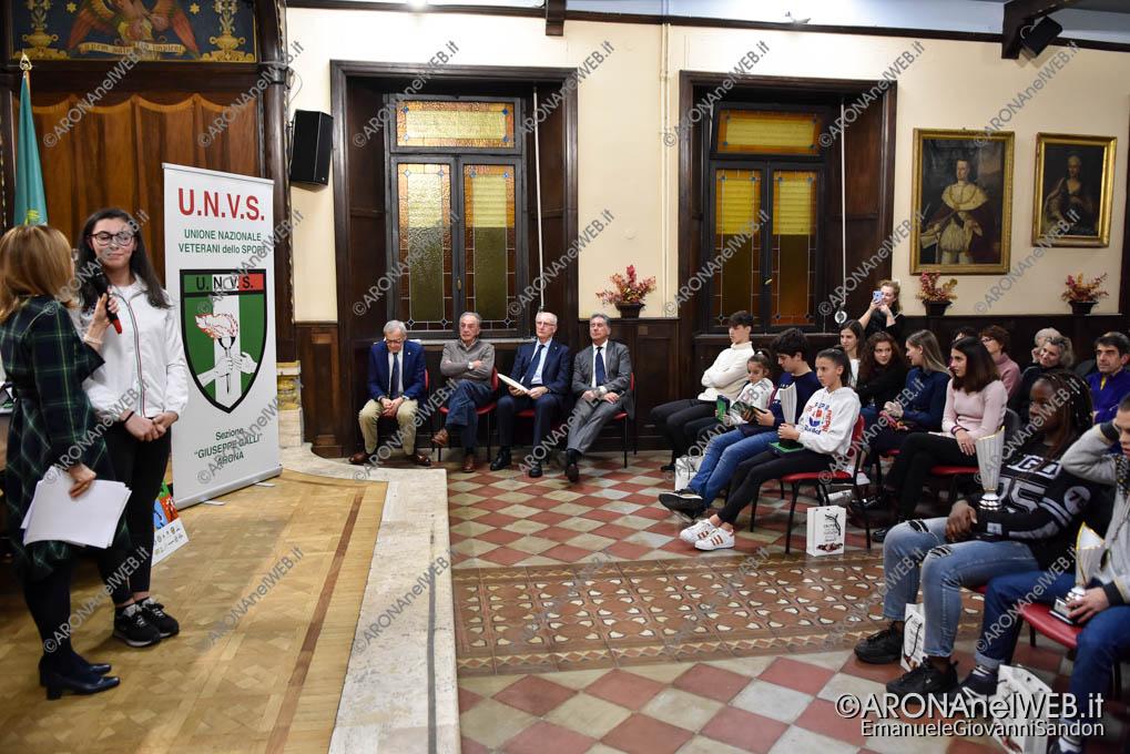 EGS2019_42273   37° Premio Sport Scuola Unione Veterani dello Sport Arona