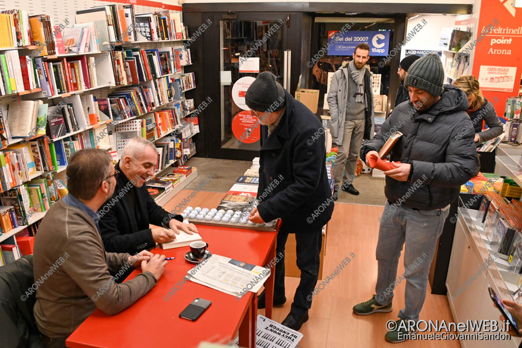 EGS2019_43934 | Federico Buffa e Carlo Pizzigoni alla Feltrinelli Point