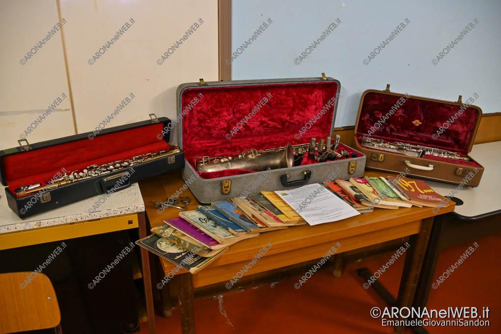 EGS2019_44009 | Gli strumenti donati dal maestro Giuseppe Agostini alla San Giorgio Music Band