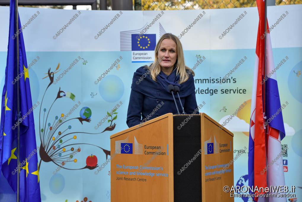 EGS2020_01138 | Nina Kajander, Rappresentante del Comitato Organizzativo del Semestre Finlandese, JRC Ispra