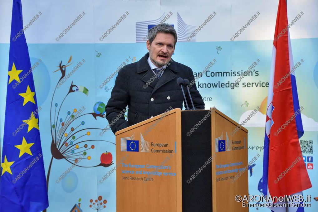 EGS2020_01144 | Ivan Davor Kuliš, Presidente del Comitato Organizzativo del Semestre Croato, JRC Ispra