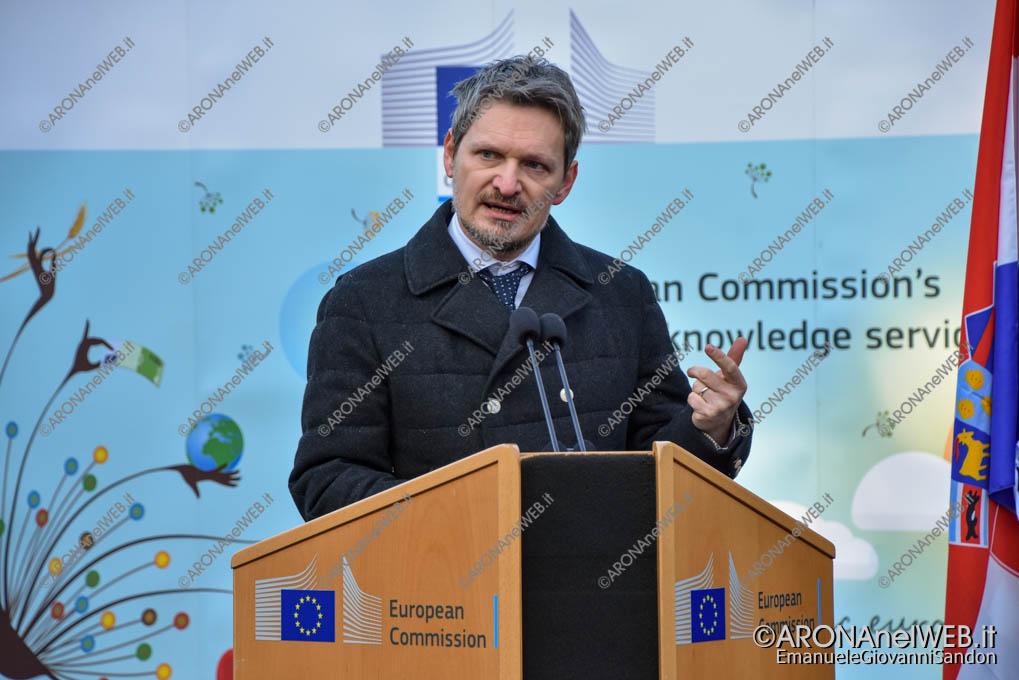 EGS2020_01148 | Ivan Davor Kuliš, Presidente del Comitato Organizzativo del Semestre Croato, JRC Ispra