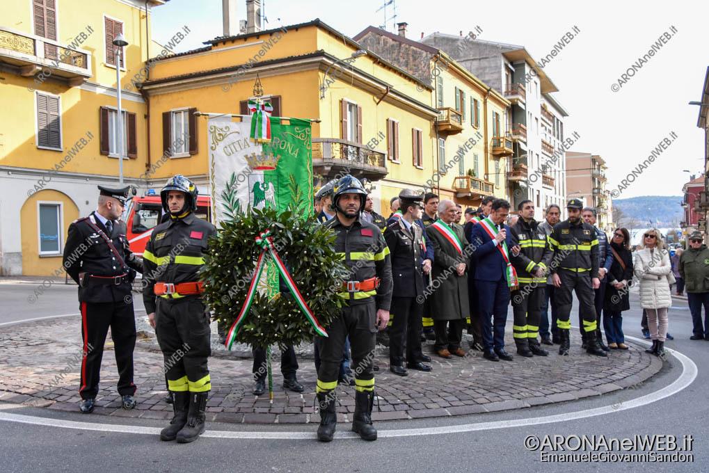 EGS2020_03064 | Intitolazione rotonda ai Caduti del Corpo Nazionale dei Vigili del Fuoco
