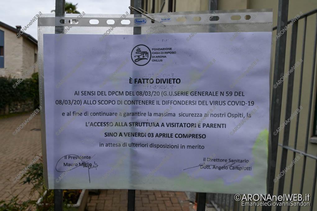 EGS2020_04311 | Casa di Riposo di Arona, disposizioni Covid-19