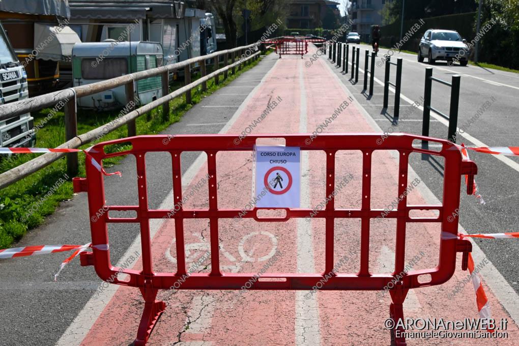 EGS2020_04465 | Corso Europa chiuso