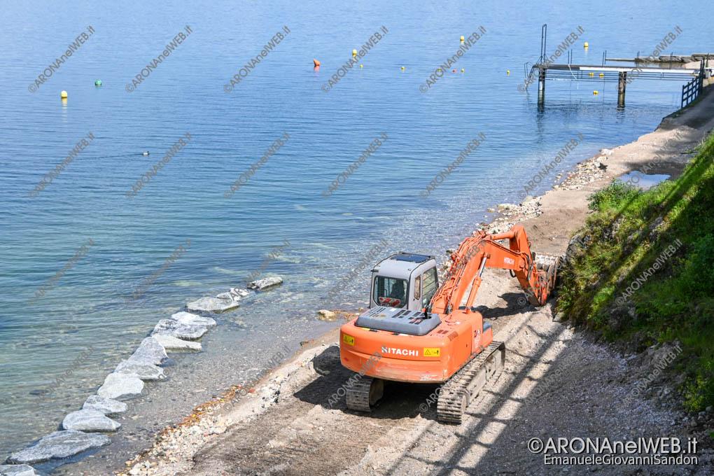 EGS2020_05198 | Lavori alla Spiaggia delle Rocchette