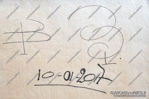 EGS2020_05945   Paolo Boscolo, la firma dell'artista