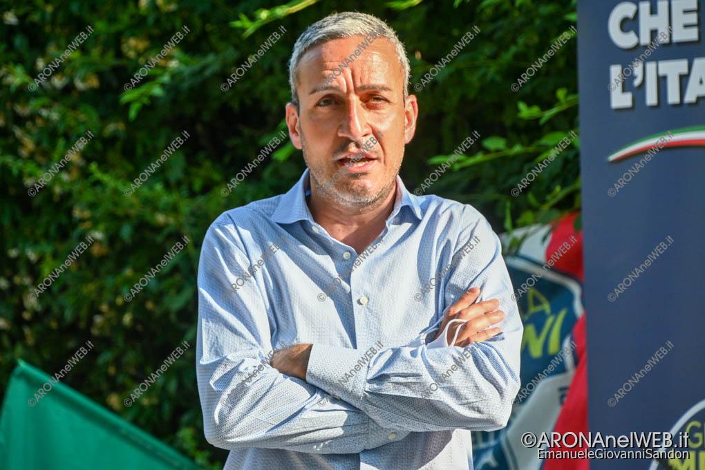 EGS2020_06679 | Carmelo Scopelliti, coordinatore di Fratelli d'Italia ad Arona