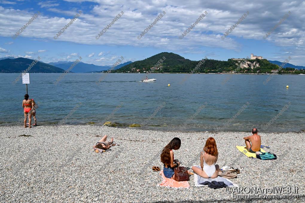 EGS2020_07144 | Arona, Spiaggia delle Rocchette - Bandiera Blu 2020