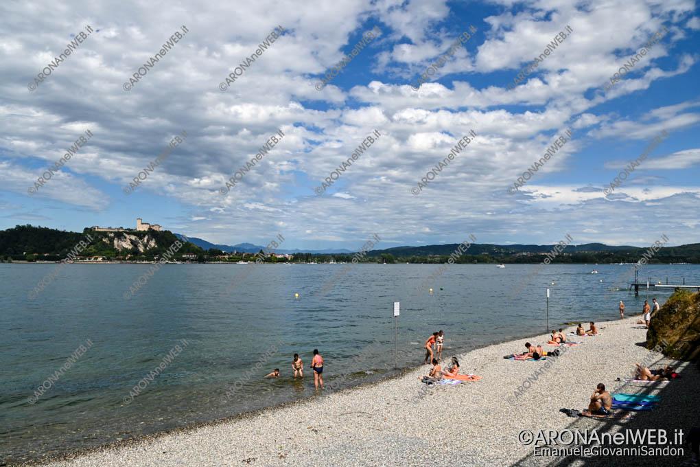 EGS2020_07149 | Arona, Spiaggia delle Rocchette - Bandiera Blu 2020
