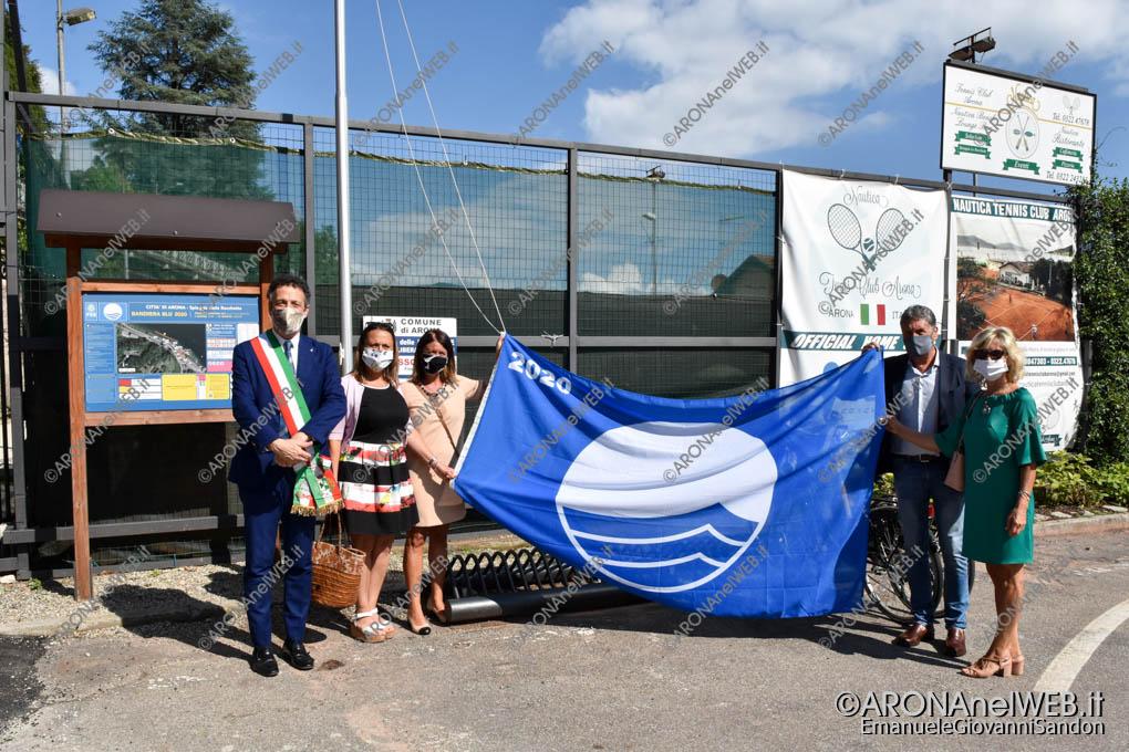 EGS2020_07341   Cerimonia di Alzabandiera Bandiera Blu 2020