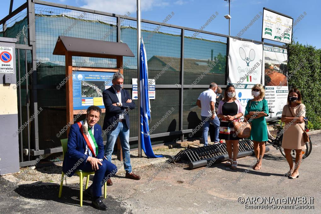 EGS2020_07360   Cerimonia di Alzabandiera Bandiera Blu 2020
