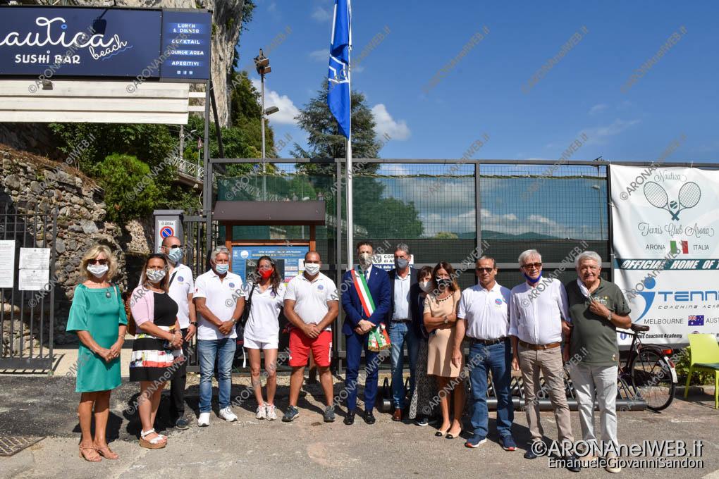 EGS2020_07394   Cerimonia di Alzabandiera Bandiera Blu 2020