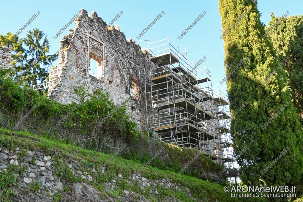 EGS2020_05878   Rocca di Arona, il restauro delle mura