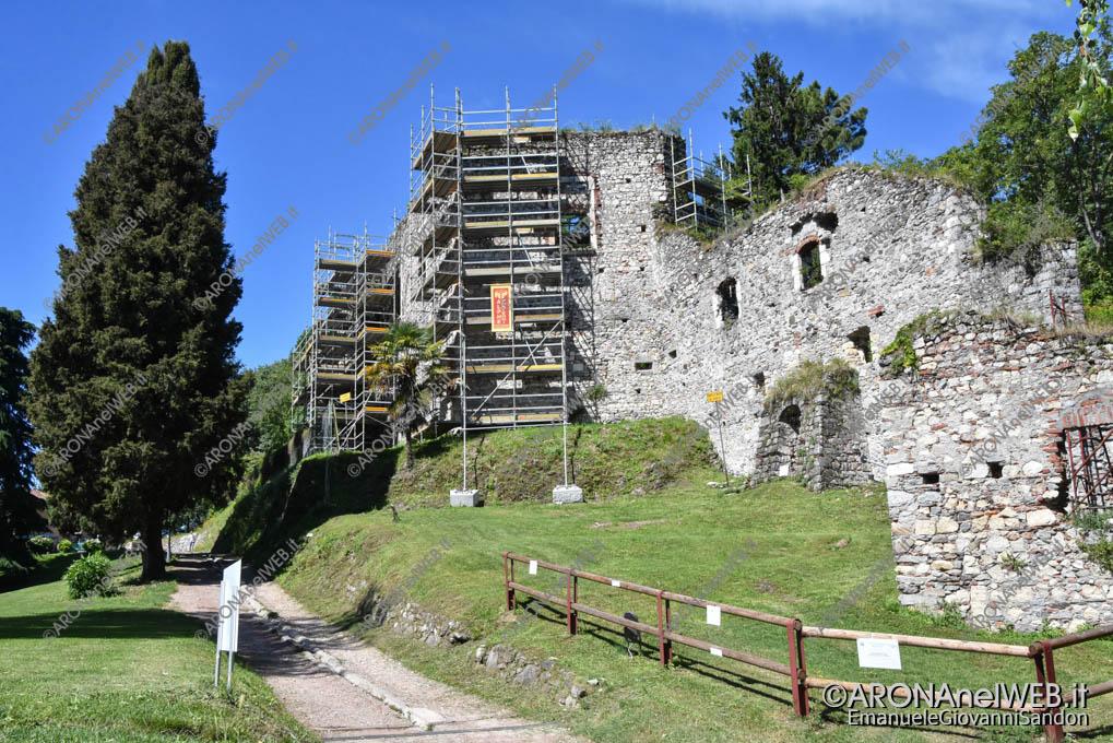 EGS2020_06059   Rocca di Arona, il restauro delle mura