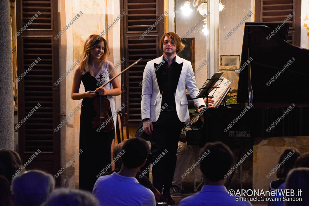 EGS2020_09617 | LagoMaggioreMusica 2020 - Clarissa Bevilacqua e Federico Gad Crema